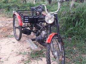 Triciclo À Gasolina - Motor 2 Tempos