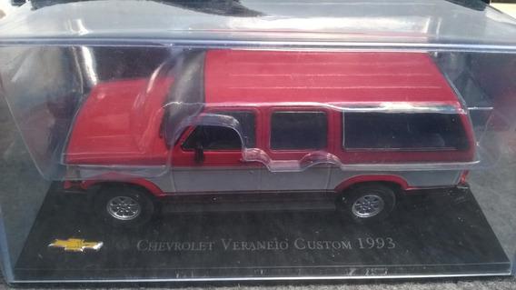 Chevrolet Colection Miniatura 1/43 Veraneio Custom 1993
