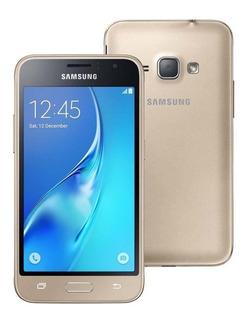 Celular Samsung Galaxy J1 2016 J120 Dual 8gb Origin. Dourado