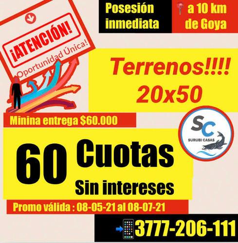 Terrenos Goya - Mercedes Cossio