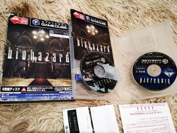 Bio Hazard Original Completo Gamecube Completo Japonês