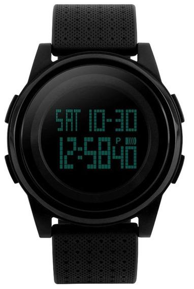 Relógio Skmei Preto 1206 Slim Original Com Garantia Promoção