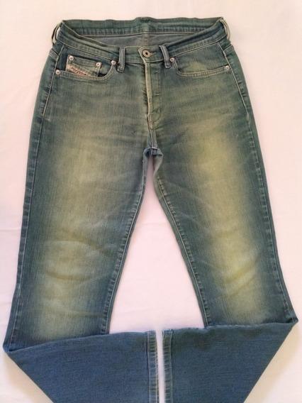 Calça Jeans Diesel Stretch Feminina 40 Importada Original