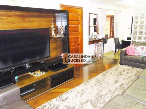 Sobrado Com 4 Dormitórios À Venda, 350 M² Por R$ 1.350.000,00 - Vila Aricanduva - São Paulo/sp - So0230