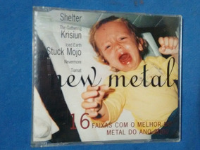 Cd New Metal Trip Shelter Krisium Nervochaos Lacuna Coil