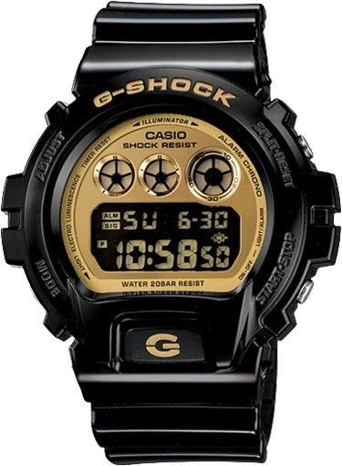 Relógio Casio G-shock Masculino Digital Preto Dw-6900cb-1ds