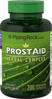 Prostaid Herbal Complex 200 Cáps Piping Rock Importado