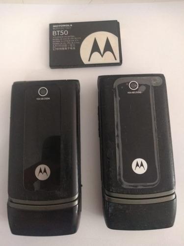 2 Celulares Motorola Modelo W375 - Retirada De Peças