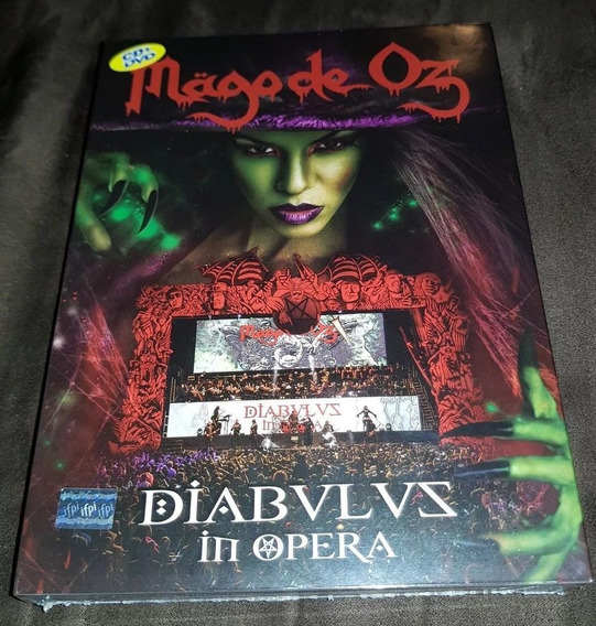 Mago De Oz - Diabulus In Opera 2017 02cd+01dvd