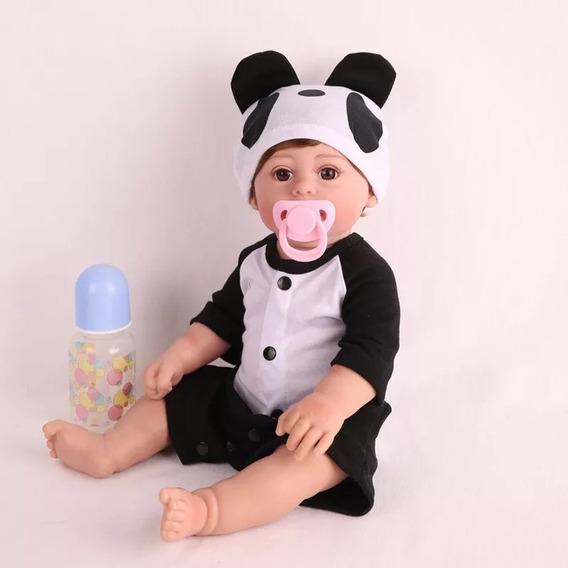 Bebê Reborn Corpo Todo De Vinil Siliconado Lol Menino