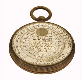 Wynnes Infallible Exposure Meter - Fotômetro Histórico 1897