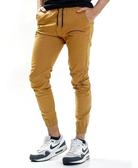 Joggers Hombre Chupin Elastizado Calidad Premium Vs Colores