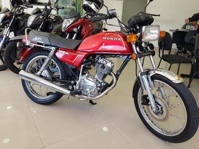 Honda Ml 125 1986 Vermelha Raridade