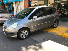 Honda Fit 1.4 Lxl At 2007 Gris Medio Serv. Oficiales