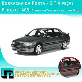 Borracha Porta Peugeot 405 Ano 95 - Kit 4 Peças Diant E Tras