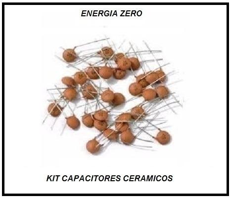 Kit Capacitores Cerâmicos Cod.