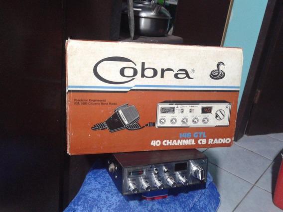 Radio Cobra 146 Gtl Item De Colecionador Exigente!!!
