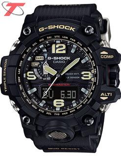 Relógio Casio G-shock Mudmaster Gwg-1000-1adr *tough Solar