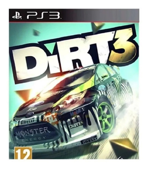 Dirt 3 Ps3 Play3 Dirt3 Pronta Entrega Jogos Playstation 3