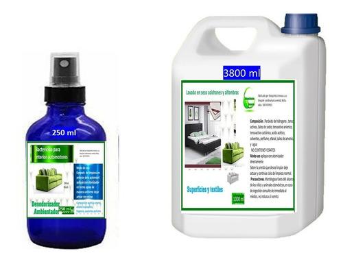 Limpiador Tapicería Y Colchones Para Vapor  + Dezodorizador