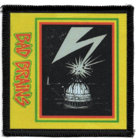 Patch Sublimado - Bad Brains - Capa Do 1o Album