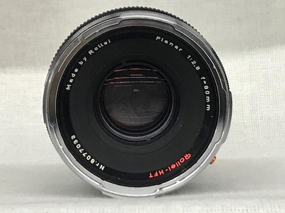 Lente Rollei-hft Planar 1:2.8 80mm (médio Formato)