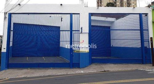 Imagem 1 de 6 de Salão Para Alugar, 400 M² Por R$ 12.000,00/mês - São João Clímaco - São Paulo/sp - Sl0389