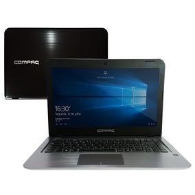 Notebook Compaq Dual Core 4gb 32gb Ssd Tela 14 Presario Cq17