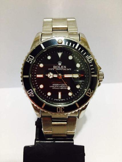 Relógio Submariner Aço Unissex Novo Com Caixa