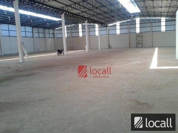Barracão Comercial Para Locação, Vila Toninho, São José Do Rio Preto. - Ba0018