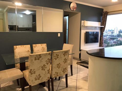 Lindo Apartamento Mobiliado - Pronto Para Morar - Jabaquara