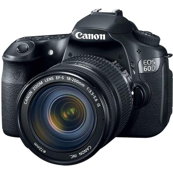 Maquina Fotográfica Canon 60d + Lente + Acessórios