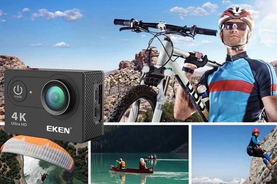 Câmera Ação Eken H9 4k Original Bike Mergulho Dvr Para Carro
