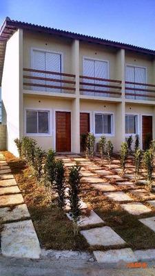 Sobrado Residencial À Venda, 2dorm, Prontos Para Morar, Entrada Facilitada, Mcmv, Cotia. - So0182