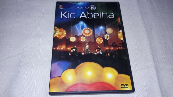 Dvd Kid Abelha - Acústico Mtv - Impecável Estado !!!!