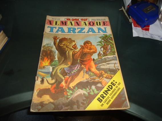 Almanaque Tarzan 1969 Ebal Ótimo Estado