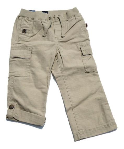 Pantalón Cargo Baby Gap Con Resorte En La Cintura