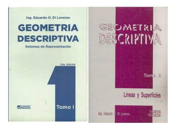 Pack Geometria Descriptiva - Tomo 1 + Tomo 2
