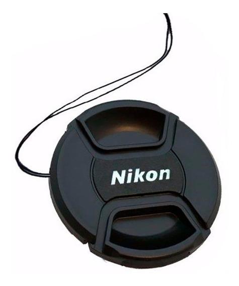 Tapa Frontal Para Lentes Objetivos Nikon Diámetro 52mm