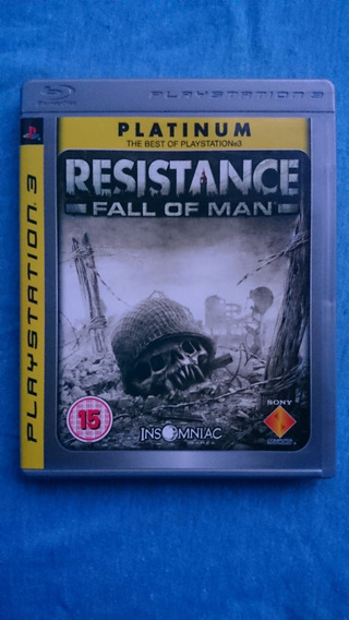 Resistance Fall Of Man Ps3 M. Fisica Frete R$10