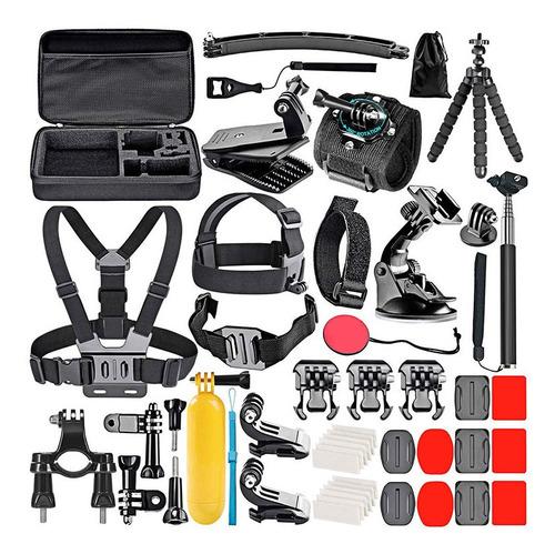 Accesorios Camara Kit 50 En 1 Universal Gopro Hero 7 8 9
