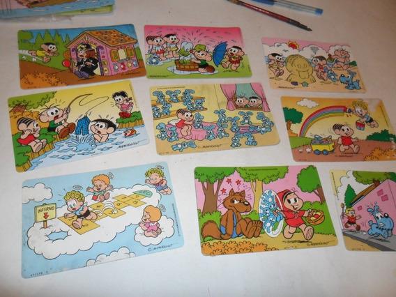 Cartão Postal - Nestle - Turma Da Mônica