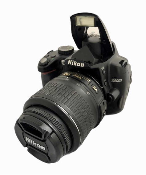 Câmera Nikon D5000 + Lente 1855 Mm Seminova 39.100 Cliques