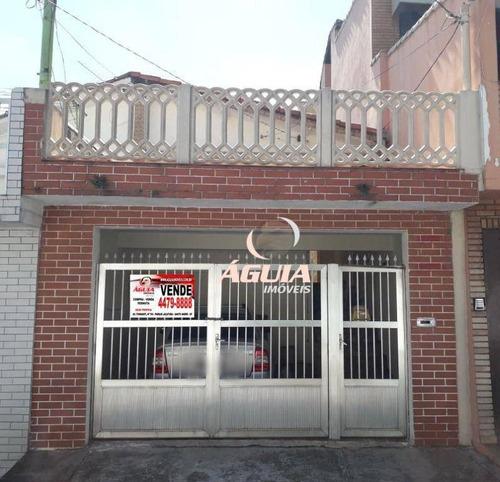 Imagem 1 de 15 de Casa Com 2 Dormitórios À Venda, 100 M² Por R$ 370.000,00 - Parque Novo Oratório - Santo André/sp - Ca0738