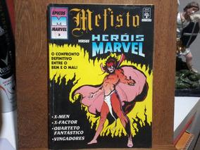Hq Mefisto Versus Heróis Marvil Volume 3 - Original