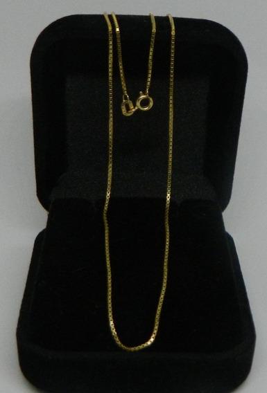 Corrente Veneziana Ouro 18k 50cm 2.90 Gramas!!