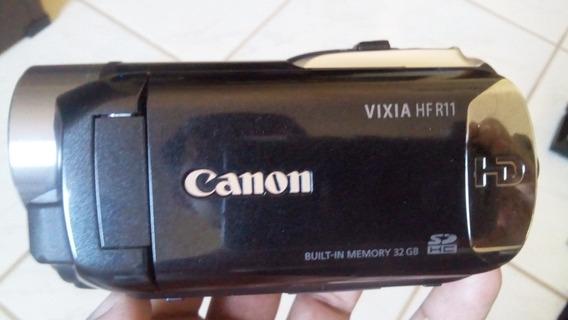 Filmadora Canon Vixia Hf R11 Hd + Cartão 32gb + Bolsa
