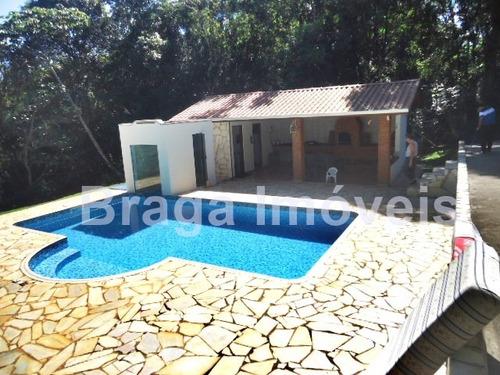 Imagem 1 de 14 de Cond.fechado - Chácara 4 Suites - Piscina A 95km Sp