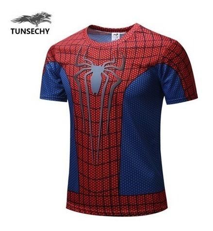 Camisa Homem Aranha 3d Tunsechy
