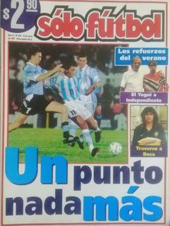 Sólo Futbol N°604.eliminatorias Uruguay 0 Argentina 0